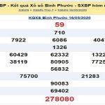 Bảng KQXSBP-Soi cầu xổ số bình phước ngày 23/05