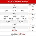 Soi cầu số đẹp Xổ Số Tây Ninh thứ 5 ngày 9-7-2020