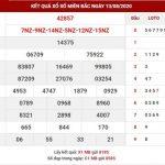 Soi cầu bạch thủ sổ số Miền Bắc thứ 6 ngày 14-8-2020