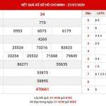 Soi cầu số đẹp XS Hồ Chí Minh thứ 7 ngày 1-8-2020