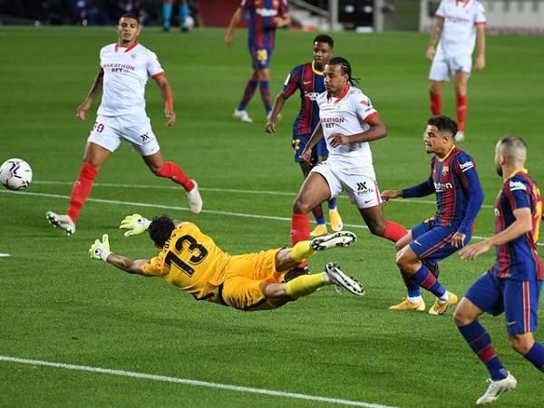 Bóng đá quốc tế 5/10: Hoà Sevilla, Barcelona còn thêm âu lo vì trụ cột