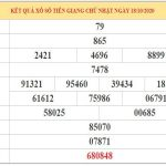 Soi cầu XSTG ngày 25/10/2020 – Thống kê xổ số Tiền Giang hôm nay chủ nhật