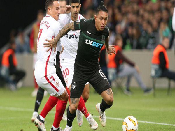 Nhận định tỷ lệ Sevilla vs Krasnodar, 03h00 ngày 05/11 - Cup C1