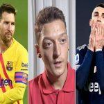 Bóng đá Quốc Tế 13/1: Ozil chọn ai xuất sắc hơn giữa Messi và Ronaldo
