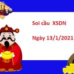 Soi cầu XSDN 13/1/2021 – Soi cầu xổ số Đồng Nai thứ 4