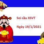 Soi cầu XSVT 19/1/2021 – Soi cầu xổ số Vũng Tàu thứ 3