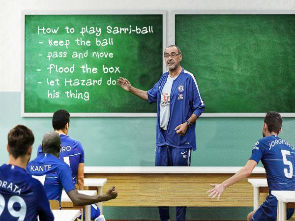 Sarri Ball là gì? Những hạn chế của chiến thuật Sarri Ball