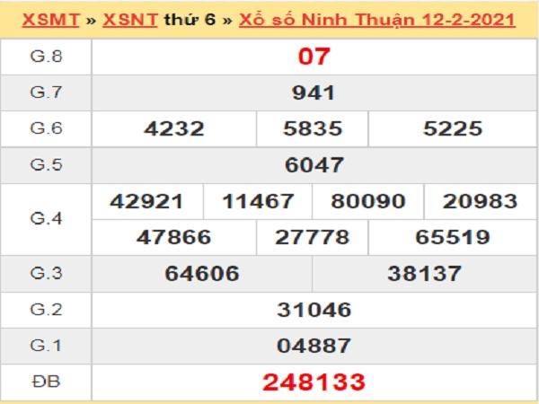 Soi cầu XSNT 19/2/2021