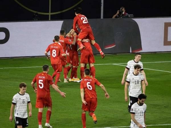 Bóng đá quốc tế sáng 1/4: Đức thua sốc Bắc Macedonia
