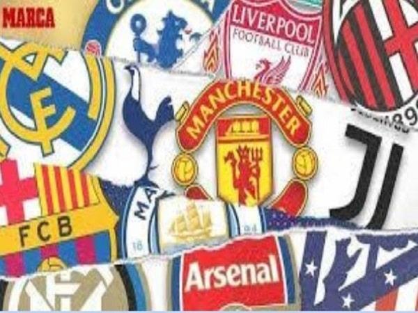 Các giải đấu hàng đầu tổ chức bởi Liên đoàn bóng đá châu Âu