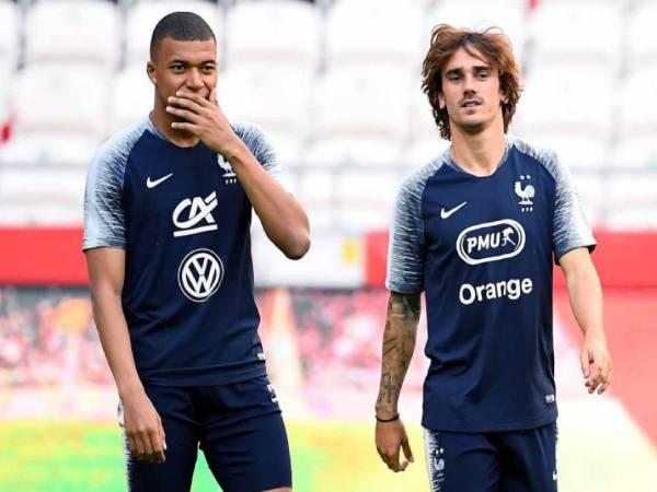Tổng hợp bóng đá QT 2/7: Griezmann không hài lòng với Mbappe