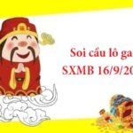 Soi cầu lô gan SXMB 16/9/2021 hôm nay