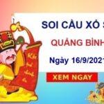 Soi cầu XSQB ngày 16/9/2021 chốt số Quảng Bình thứ 5