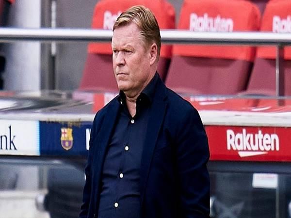 Tin Barca 24/9: HLV Koeman lên tiếng trong lúc CLB khủng hoảng