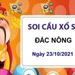 Soi cầu KQXSDNO ngày 23/10/2021 chốt lô số đẹp thứ 7